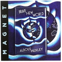 Brave New World - Book Cover Refrigerator Magnet