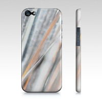 Silver Glow iPhone 5 Case by JUSTART (iPhone 5 / 5S)
