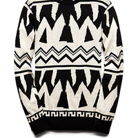 Bold Tribal-Inspired Sweater