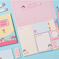 Hello Coco Sticky Notebook