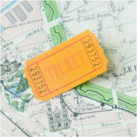 Ticket Sticky Note
