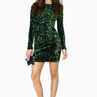 Motel Gabby Sequin Dress