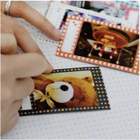 Message Instax Mini Film Frame Sticker Set