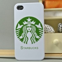 Starbucks LOGO Hard Cover Case for AT&T, Sprint, Verizon iPhone 4/4S