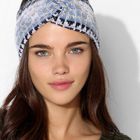 Urban Renewal Patterned Sweater Headwrap - Urban Outfitters