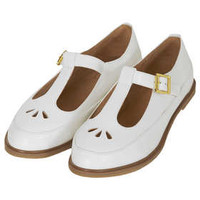 MARTIE LEATHER T BAR GEEK SHOE