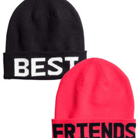 2-pack Hats - from H&M