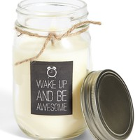 Primitives by Kathy 'Wake Up' Mason Jar Candle | Nordstrom
