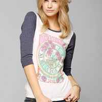 Corner Shop Nature Clock Raglan Tee  - Urban Outfitters