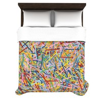KESS InHouse More Sprinkles Duvet Cover Collection