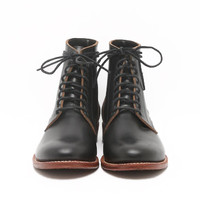 Oak Street Bootmakers SS13 Trench Boot Black - CONTEXT CLOTHING - Free Shipping!