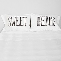 The Rise And Fall Sweet Dreams Pillowcase - Set Of 2 - Urban Outfitters
