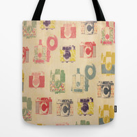 Camera Action Tote Bag by liberthine01
