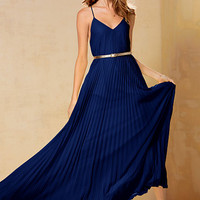 Knife-pleat Maxi Dress - Victoria's Secret