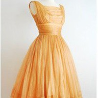 CUSTOM MADE Vintage Inspired 1950s dress by iconicstyles on Etsy