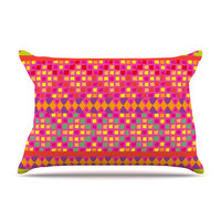 KESS InHouse Mexicalli Fleece Pillow Case
