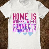 Home Is Where Wi-Fi Connects Automatically