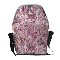 Pink Diamond Bubblegum Rickshaw Fashion Courier Bag