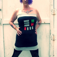 custom Darth Vader Star Wars inspired costume Cosplay Mini Dress