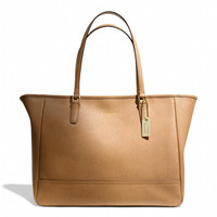 MEDIUM CITY TOTE IN SAFFIANO LEATHER