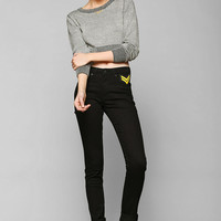 CourtShop X UO High-Rise Military Skinny Jean - Urban Outfitters