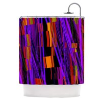 KESS InHouse Threads Polyester Shower Curtain