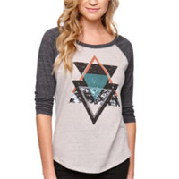 Billabong Unique Love Forever Baseball Tee at PacSun.com