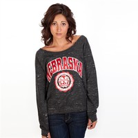 Pressbox Juniors University of Nebraska Melody Sweatshirt at Von Maur