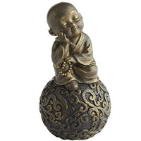 Monk on Decorative Sphere