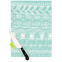 KESS InHouse Beach Blanket Bingo Cutting Board