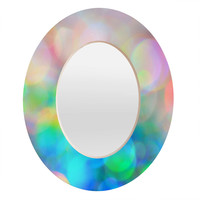 Lisa Argyropoulos Color Me Happy Oval Mirror