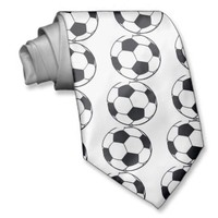 I LOVE FOOTBALL (SOCCER) NECKTIE