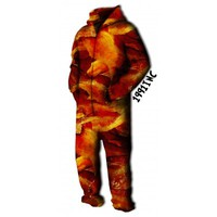 ☮♡ Bacon Onesuit Jumpsuit ✞☆