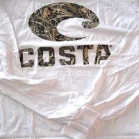 Costa Del Mar LOGOCAMO Realtree Max-4 Camo Long Sleeve T-Shirt