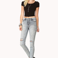 Favorite Acid Wash Skinny Jeans