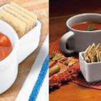 The Green Head - Soup And Cracker Mugs
