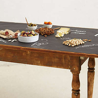 Chalkboard Table Runner