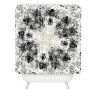 Caleb Troy Monochrome Whirlpool Shower Curtain