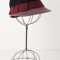 Loren Colour-Blocked Cloche
