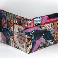 Comic Book Wallet// Darkhawk vs Hobgoblin