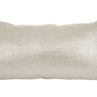 METALLIZED LINEN PILLOW
