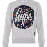 Hype 'Flower' Sweatshirt* - Mens Hoodies & Sweatshirts - Clothing