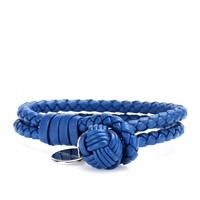 mytheresa.com - Knot woven leather bracelet - current week - new arrivals - Luxury Fashion for Women / Designer clothing, shoes, bags