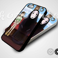 Spirited Away Train for iphone 4/4s case, iphone 5/5s/5c case, samsung s3/s4 case in kozbento