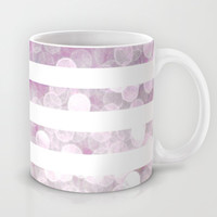 NAUTICAL BOKEH IN PINK Mug by colorstudio