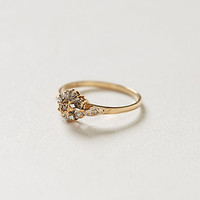 Vintage Diamondburst Lover's Ring