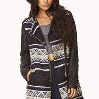 Tribal Style Quilted Jacket