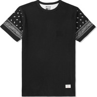 Black/Silver Mr.Metallic Paisley T-Shirt