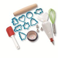 Playful Chef Cookie & Cupcake Baking Kitchen Tool Set