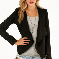 Zac Draped Jacket $42